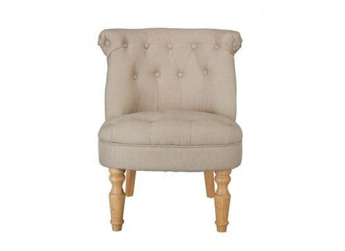 Coucy Classic Beige Lounge Chair 17LD490