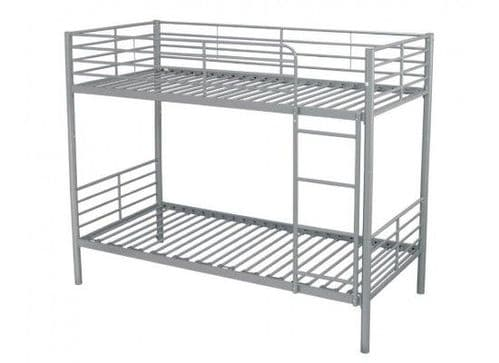Creil Silver Finish Bunk Bed 17LD253
