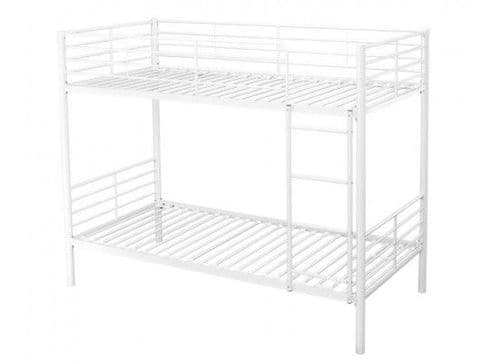 Creil White Finish Bunk Bed 17LD253