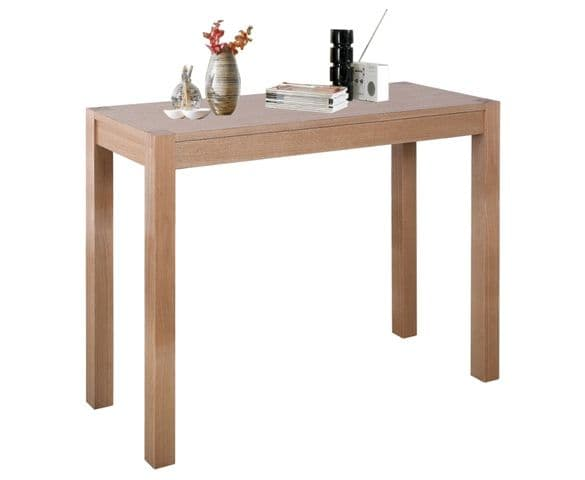 Cyrus Solid Ashwood Console Table HL18-18