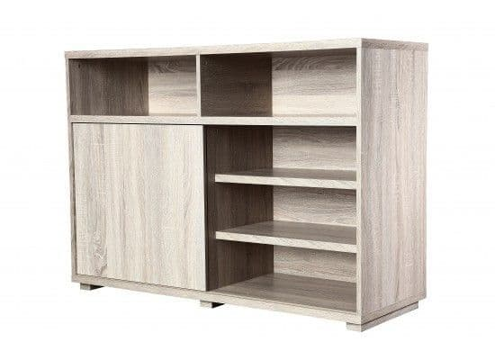 Dizier Sonoma Oak Foil Sideboard Storage Unit 17LD557
