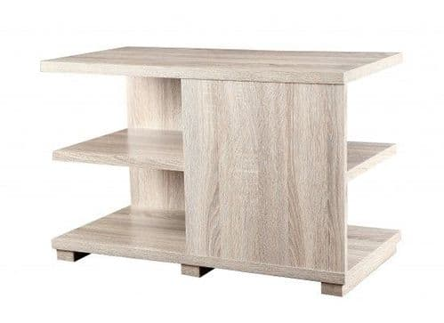 Dizier Sonoma Oak Foil Storage Coffee Table 17LD558