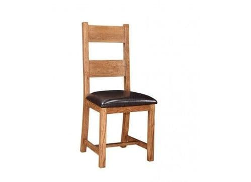 Dreux American Oak Set Of 2 Dining Chairs 17LD365
