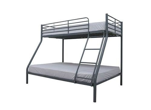 Dunkirk Silver Metal Trio Bunk Bed 17LD263