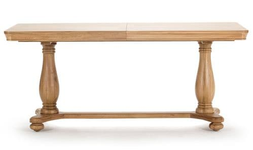 Forio Solid Oak Extending Oiled Finish Dining Table 18VD216