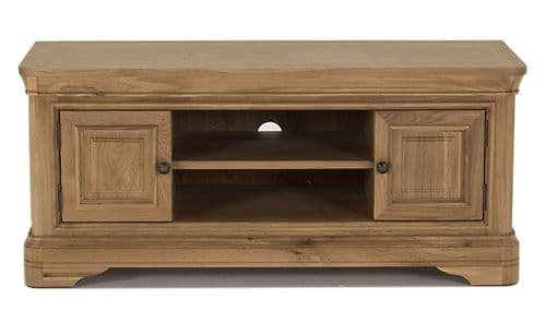 Forio Solid Oak Oiled Finish TV Unit 18VD225
