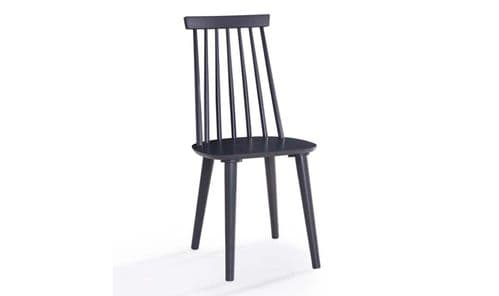 Formia Black Spindle Back Dining Chair 218VD533