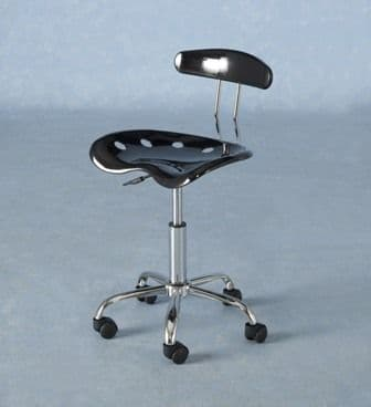 Fouquet Black Computer Chair x 2
