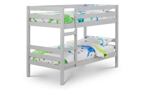 Gasteiz Dove Grey Lacquer Solid Pine Bunk Bed 18JB110