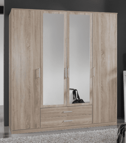 Oak Effect Wardrobe | Oak Effect | Furniture Factor