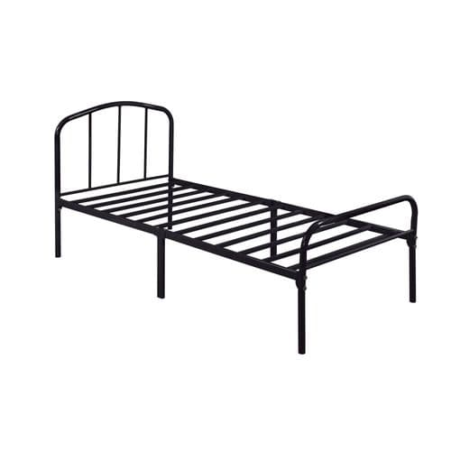 Granville Black Metal Single Bed 19LD285