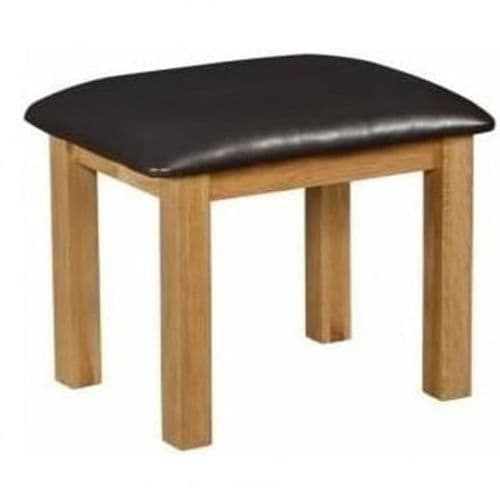 Grenoble Solid Oak Dressing Table Stool 17LD133