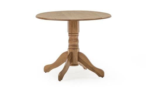 Irpino Natural Oak Extending Dining Table 18VD140