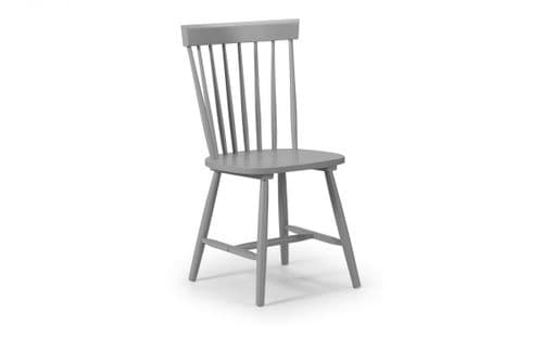 Irun Grey Dining Chair 18JB532