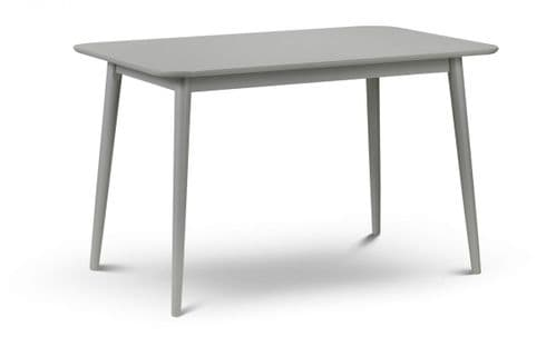 Irun Grey Lacquered Finish Dining Table 18JB531