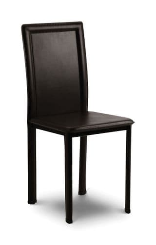 Jaén Stylish Faux Leather Upholstered Dining Chair JB436