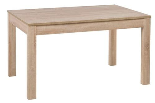 Jowisz Sonoma Oak Effect Extending Dining Table