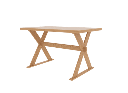 Jumieges Oak Effect Dining Table 17LD572