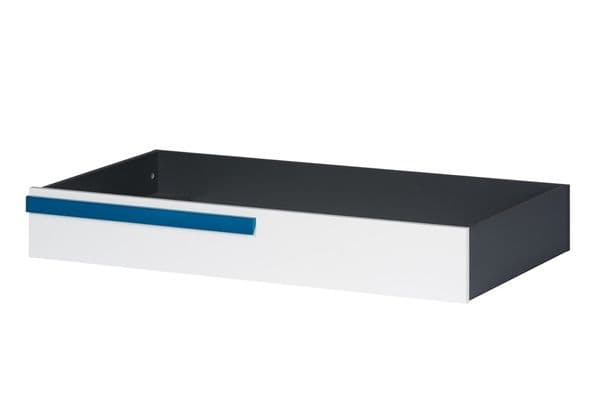 Karlo White With Graphite Effect Underbed Drawer SZIK53