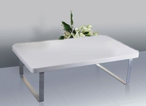 La Rochelle White High Gloss Coffee Table 17LD293