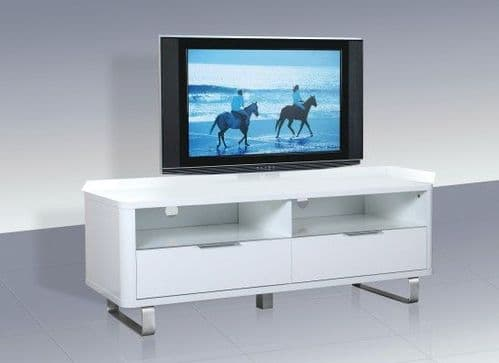La Rochelle White High Gloss TV Unit 17LD295