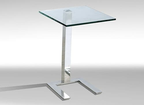 Laurito Glass Lamp Table HL358-18