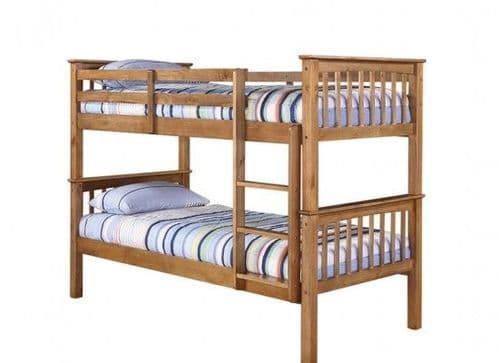 Lisieux Solid Pine Bunk Bed 17LD255
