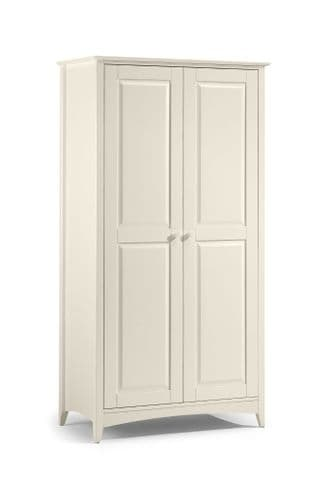 Mérida Stone White 2 Door Wardrobe JB113
