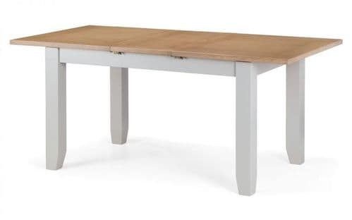 Manresa 2-Tone Oak And Grey Extending Dining Table 18JB440