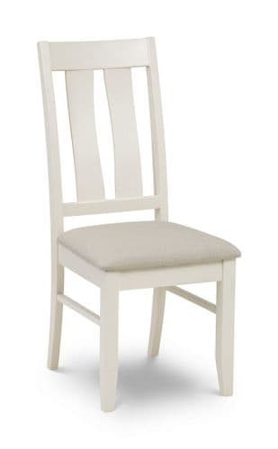 Marchena Ivory Lacquered Finished Dining Chair JB377