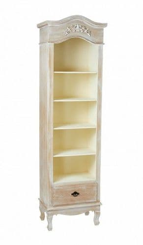 Montlucon Weathered Oak Tall Bookcase 19LD396