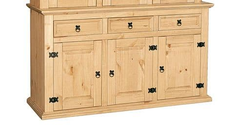 New Corona Pine Buffet 3 Door Sideboard HL39-18