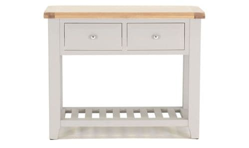 Nocera Grey And Oak Large Console Table 18VD254