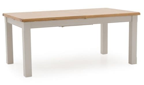 Nocera Grey And Oak Large Extending Dining Table 18VD243