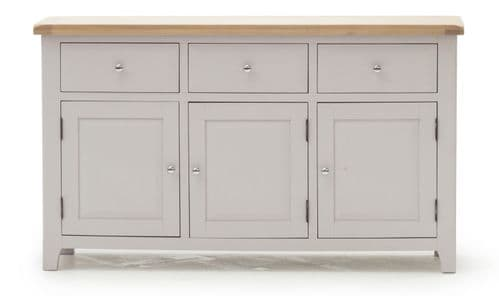 Nocera Grey And Oak Large Sideboard 18VD247