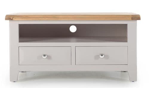 Nocera Grey And Oak Rectangular TV Unit 18VD262