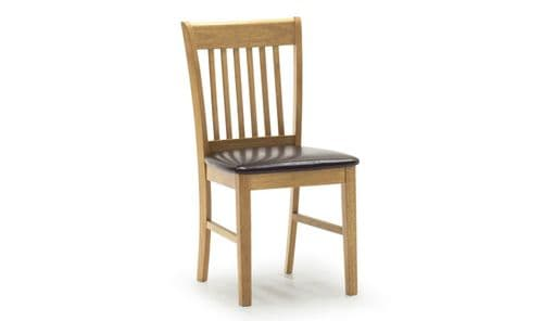 Nola Solid Hardwood Oak Finish Dining Chair 18VD278