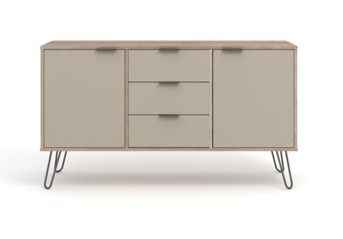 Nova Driftwood Large Sideboard with 2 Doors 3 drawers - AGD916