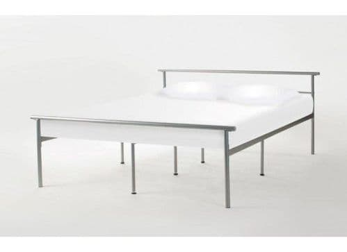 Ouistreham Metal Double Bed In A Box 17LD216