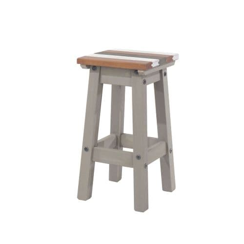 Puebla Vintage Low Kitchen Stool CRV106 (Pair)