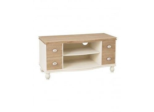 Rennes Soft White And Cream TV Unit 17LD381