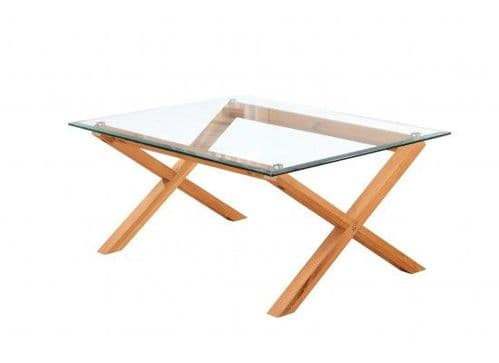 Rocroi Stylish Solid Oak Coffee Table 17LD334