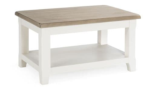 Sessa Antique White Coffee Table 18VD303