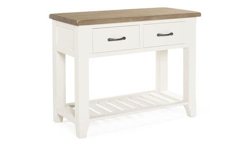 Sessa Antique White Console Table 18VD305