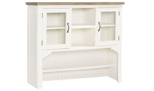 Sessa Antique White Large Hutch 18VD302