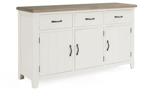 Sessa Antique White Large Storage Sideboard 18VD301
