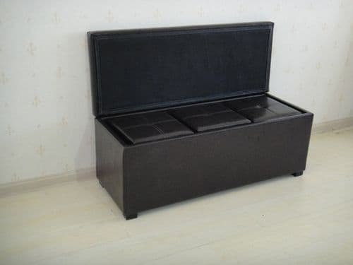 Signoretti Faux Leather 4 Pc Storage Box HL83
