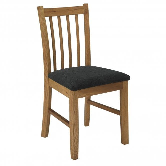 Soissons Black And Oak Dining Chair 19LD635