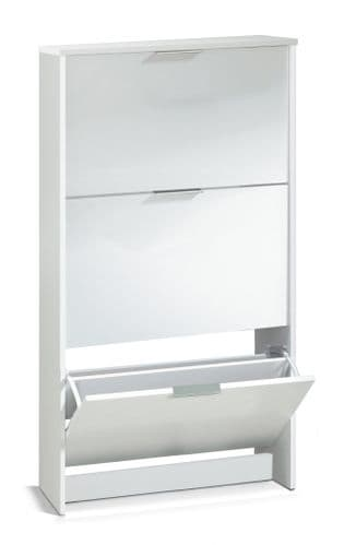 Soles Large Shoe Cabinet White- 2894
