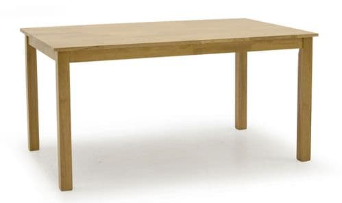 Sulmona Solid Oak Rectangle Large Dining Table 18VD62